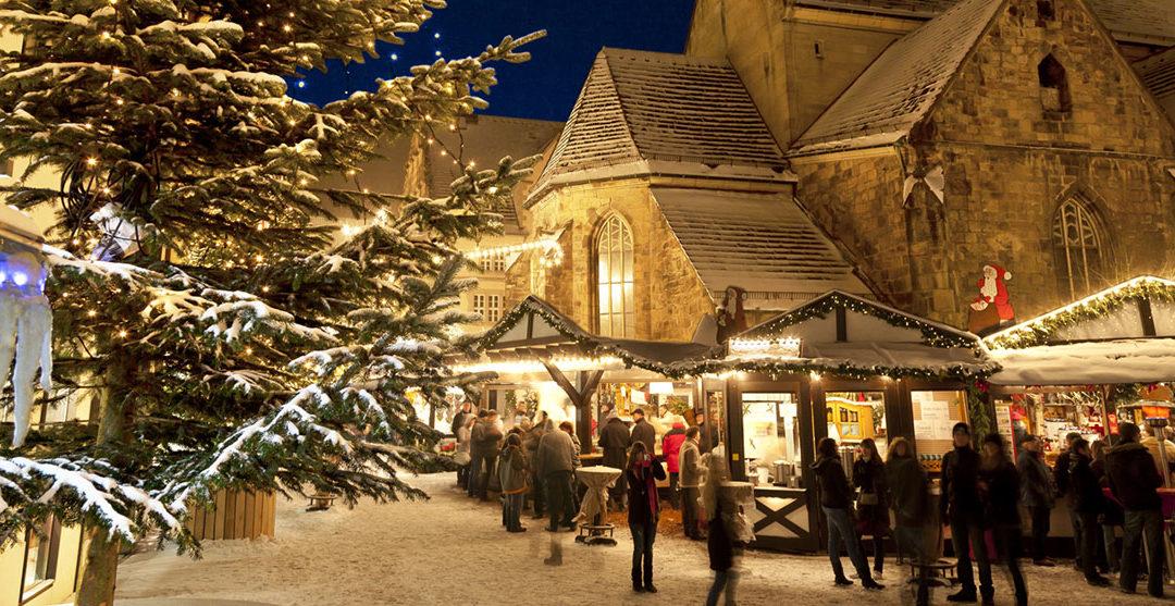 Idyllisk julestemning i Tysklands byer