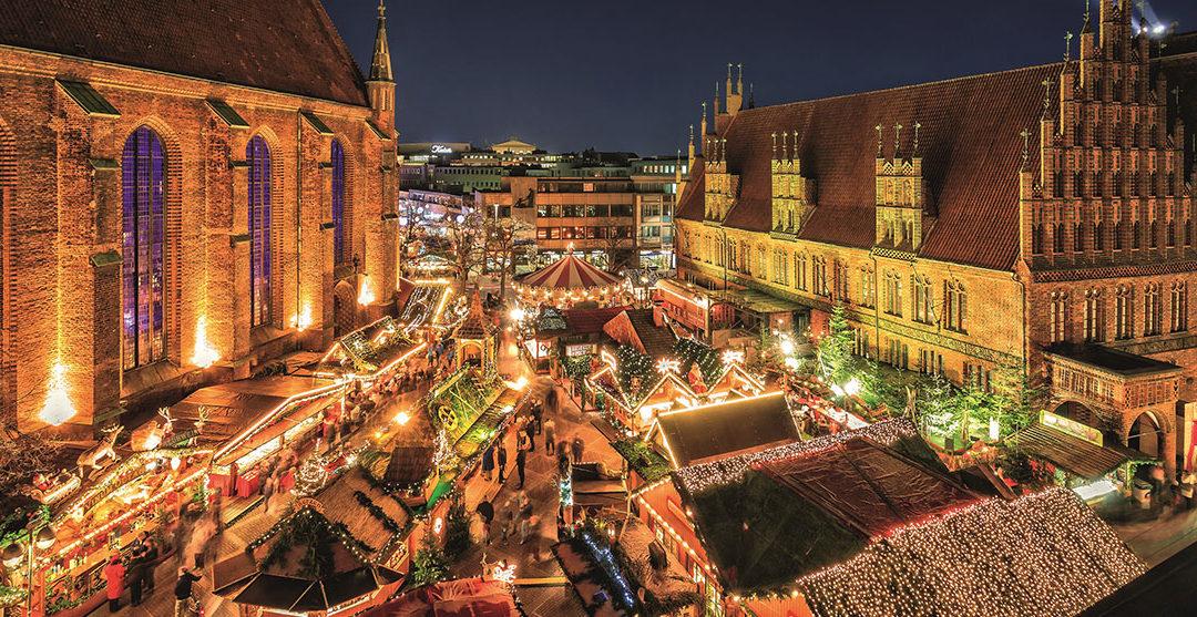 Ta' på juleshopping i Hannover